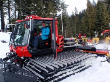 Local snow groomer heads to Winter Olympics