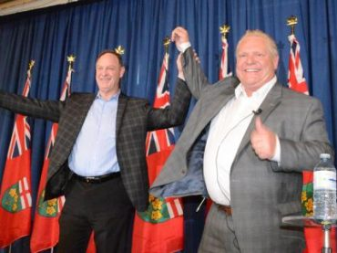 "Doug Ford promises ""things are going to change"""