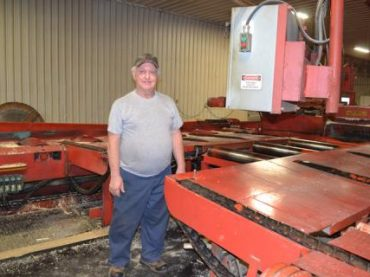 Retiring edgerman bids farewell to Gulick Forest Products
