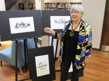 Hassie celebration in the MVDHS library
