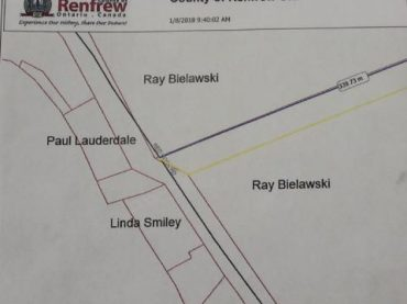 Request to open road allowance off Red Rock Road
