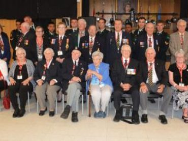 Veterans thanked and remembered at Barry's Bay Legion