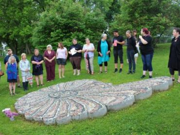 Monument honouring survivors of sexual assault scarred