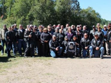 Templar Knights Motorcycle Club makes stop in Quadeville