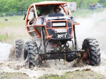 Powerful engines, deep ponds and mud galore at Eganville Mudder