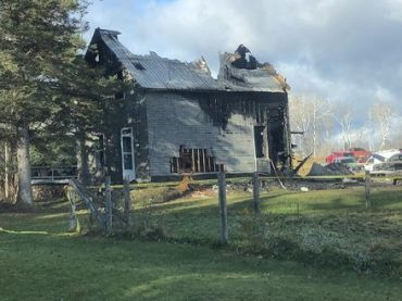 Fatal fire on Mask Road