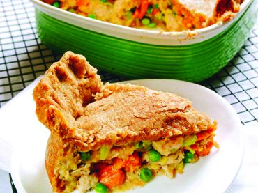 Turkey Vegetable Pot Pie with Whole-Wheat Crust