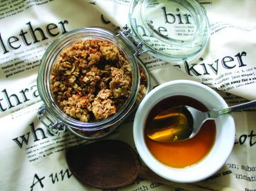 Healthy up your breakfast with homemade granola