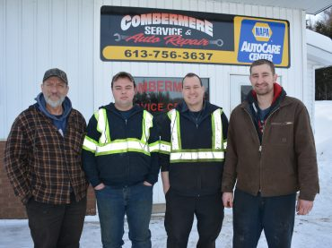 New manager, same faces at Combermere Service Centre