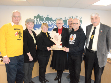 Wilno Heritage Society receives Mayor's Appreciation Award