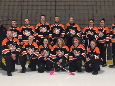 Two local broomball teams head to regionals this weekend