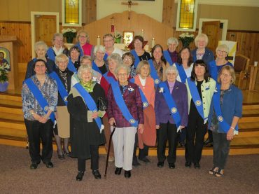 The CWL at Holy Canadian Martyrs Parish celebrates 30 years