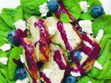 A simple salad is a summertime staple