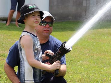 Fire prevention lessons mixed with fun