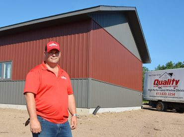Contractor unveils new location and new business in Golden Lake