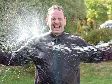Whitney LCBO surpasses goal, district manager gets soaked, Game On wins