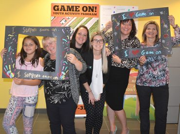 Bay Credit Union supports CRC's Game On program