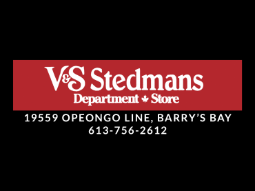 V&S Stedmans | Barry's Bay, ON