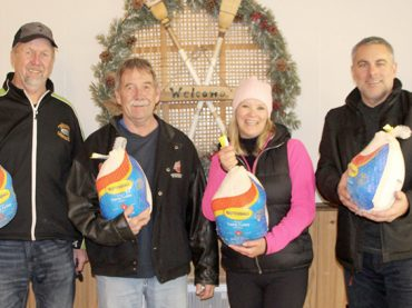 Annual turkey bonspiel in Killaloe