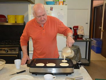 Snowmobilers and repeat guests support Legion's breakfast
