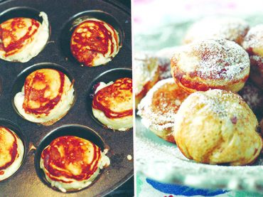 Pancake puffs make a sweet treat at any time of the day
