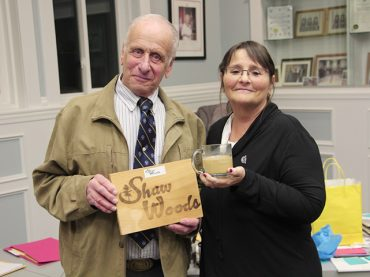Mayor acknowledged for her service by Shaw Woods Outdoor Education Centre