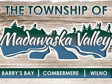 MESSAGE FOR MADAWASKA VALLEY TOWNSHIP RATEPAYERS: