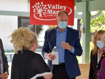 Funding announcement for Valley Manor major boost for development plan
