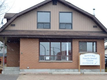 Barry's Bay Family Dental Centre gets a facelift