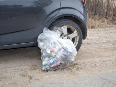 The great spring roadside cleanup