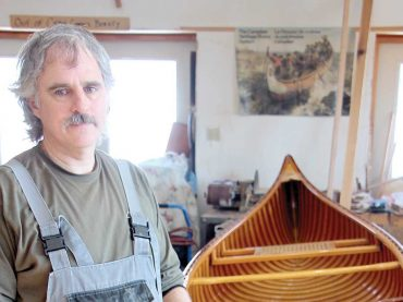 A passion for making beautiful canoes