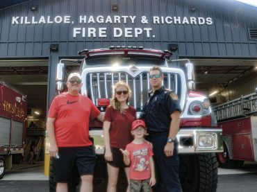 KHR holds grand opening for new fire hall