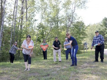 Disc golf course opens in Killaloe-Hagarty and Richards