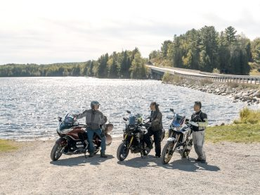 Motorcyclists escape Toronto to ride beautiful Madawaska Valley roads for annual InstaMeet